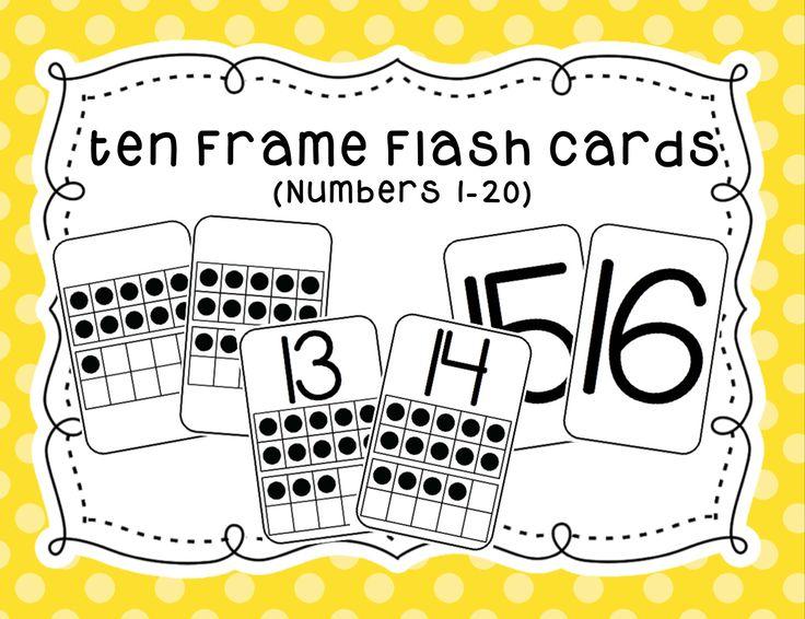 https://www.teacherspayteachers.com/Product/Ten-Frame-Flash-Cards-1725480