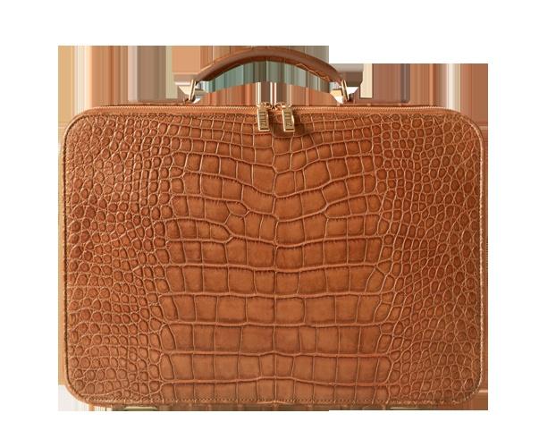 Zilli'den krokodil bond çanta. Acaba biz de kullanabilir miyiz? =)