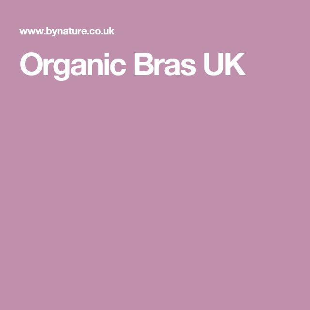 Organic Bras UK