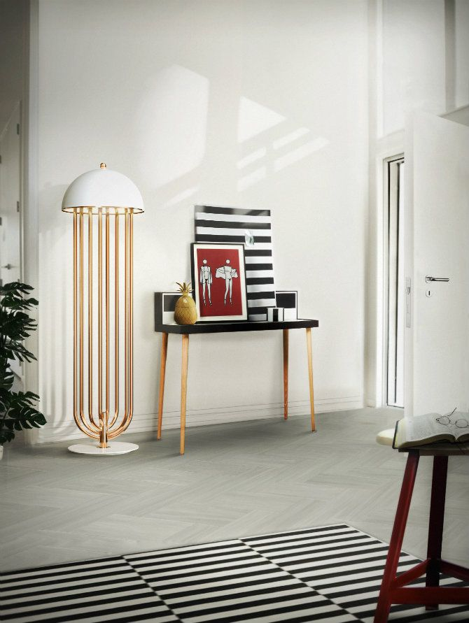 Floor Lamps Interior Design Delightfull Uniquelamps FloorLamps TripodLamp TripodFloorLamp ModernHomeLighting