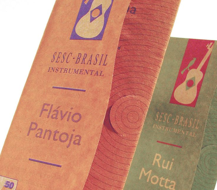 "Check out my @Behance project: ""Sesc Brasil Instrumental - Folder - 1998"" https://www.behance.net/gallery/4175201/Sesc-Brasil-Instrumental-Folder-1998"