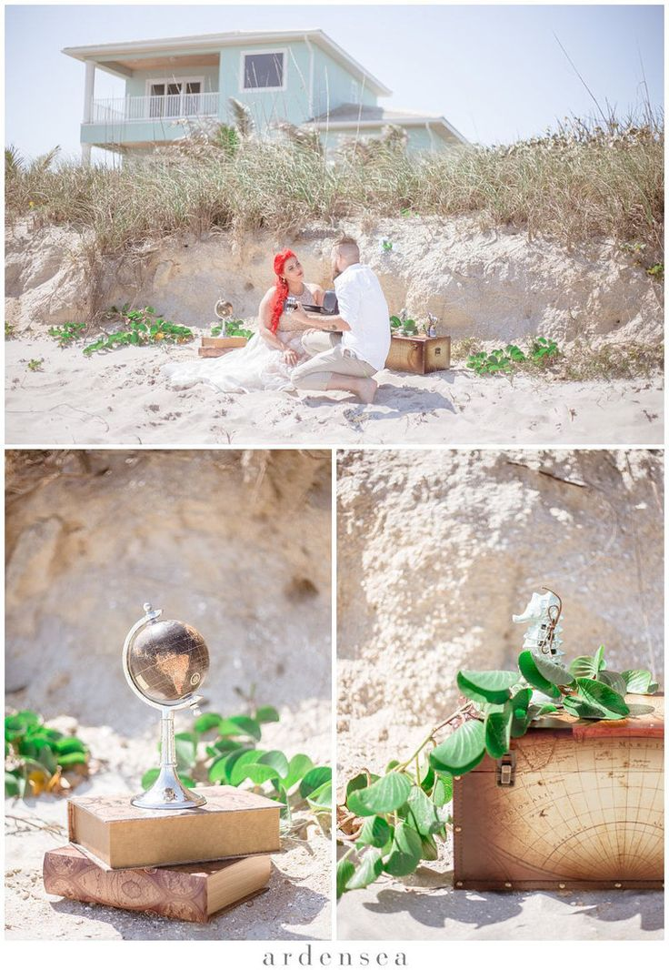 DIY Beach Wedding Ideas | Mermaid Theme #mermaid #weddingideas