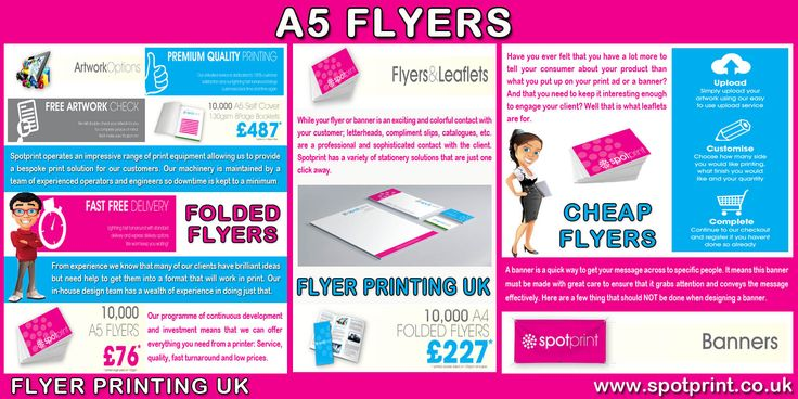 Cheap flyer printing can work for many companies depending on the avenues you take to distribute your good name and services. Click this site http://www.spotprint.co.uk/ for more information on Flyer Printing . The best thing is you can get flyers just about anywhere custom-designed your way in order to better your brand, keeping you ahead in the game. Therefore opt for the best cheap flyers and avail its benefits.Follow Me On :http://a5flyers.blogspot.com/2015/08/booklets-printing.html