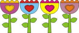 decorazioni fiori di primavera