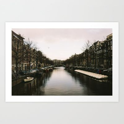 Canal Art Print by Golden Sabine