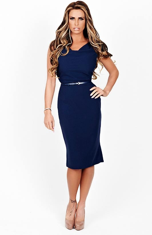 Katie Price-don't know who this is but I like her dress