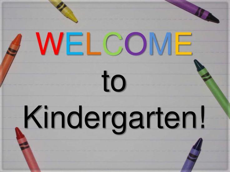kindergarten-orientation-8560229 by Jessica Gleadall via Slideshare