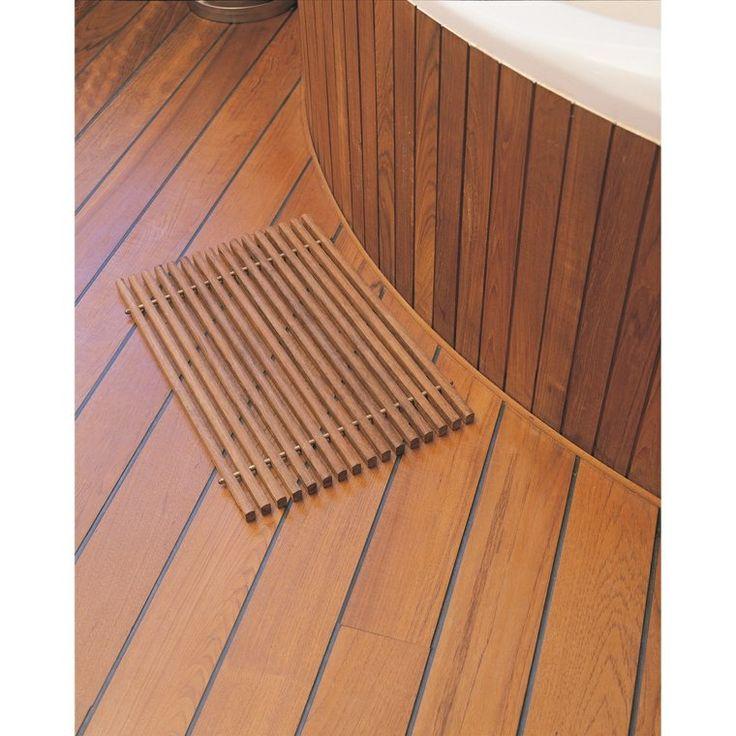 les 25 meilleures id es concernant salle de bain teck sur pinterest meubles teck teck et bain. Black Bedroom Furniture Sets. Home Design Ideas