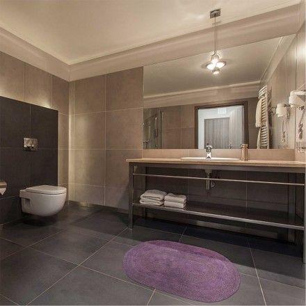 Tapete Banheiro Flip - Lilás 0,50m x 0,80m - Kapazi