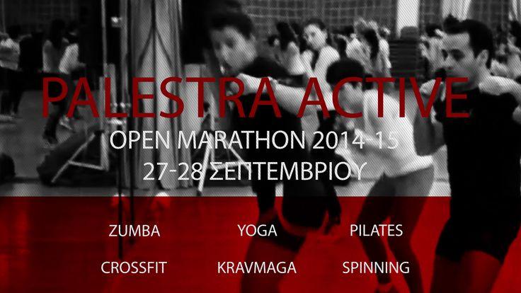 Το PALESTRA ACTIVE σας καλεί στο Open Marathon 2014-15! - Διάβασε το νέο άρθρο από τα TOP GREEK GYMS http://topgreekgyms.gr/%cf%84%ce%bf-palestra-active-%cf%83%ce%b1%cf%82-%ce%ba%ce%b1%ce%bb%ce%b5%ce%af-%cf%83%cf%84%ce%bf-open-marathon-2014-15/