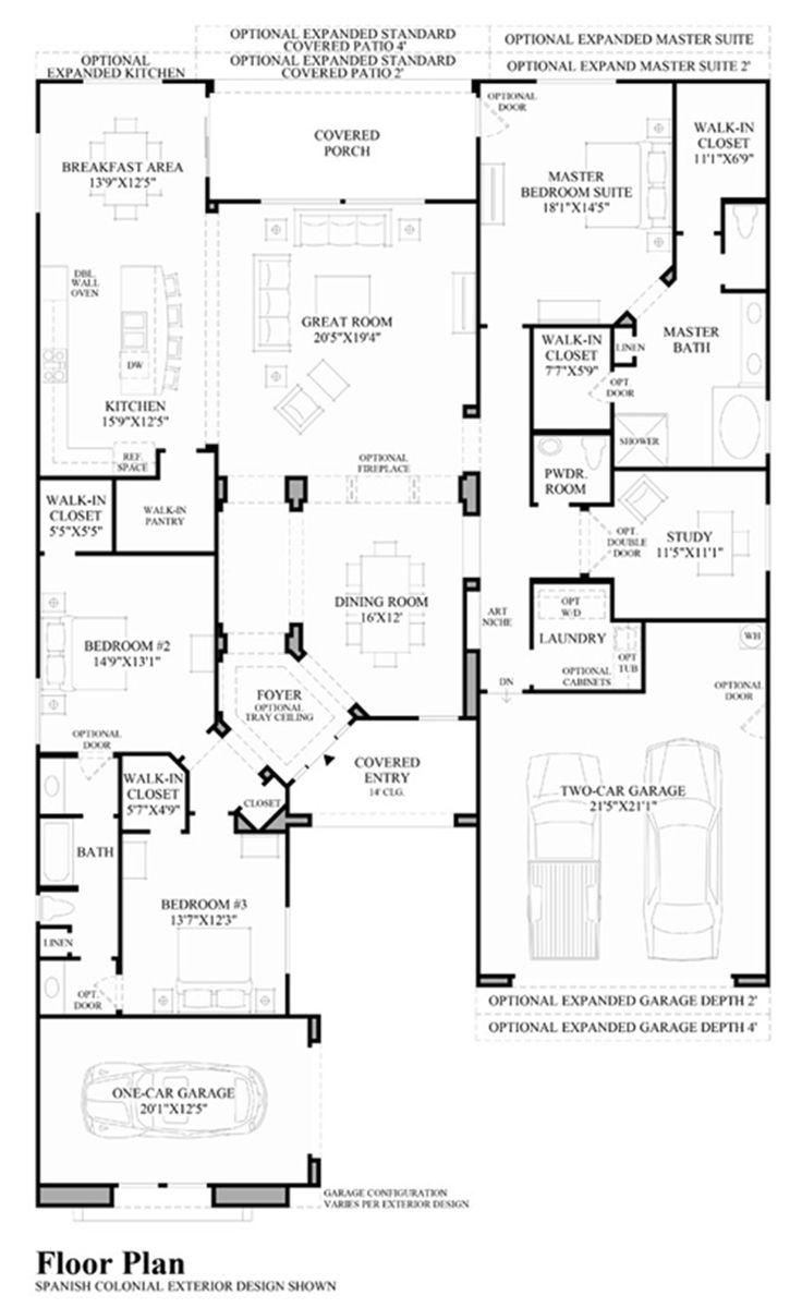 26 best tollbro floorplan images on pinterest toll brothers villaga floor plan monteloma at windgate ranch scottsdale desert willow collection luxury new homes in scottsdale az