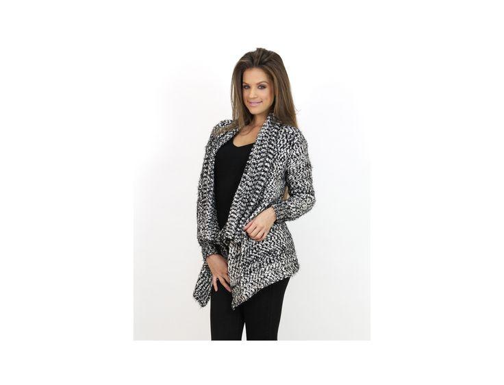 Cardigan Gros Tricotat - Pulovere și Cardigane - Famevogue  #cardigan #moda #haine #magazin #style #fashion #clothing