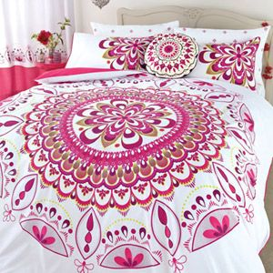 Pink Mandala Bedding (Would prefer in turquoise)