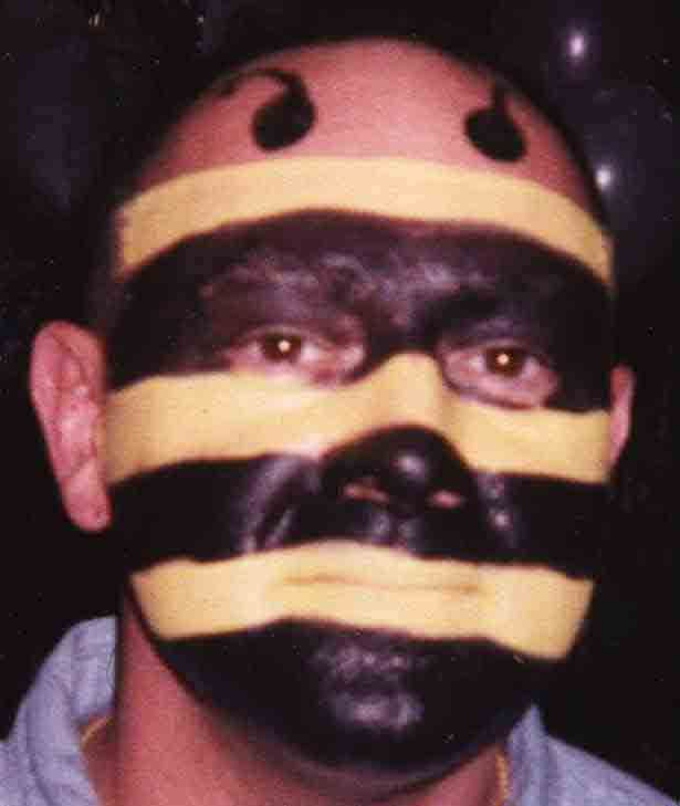 Face Paint For Bumblebee Costume