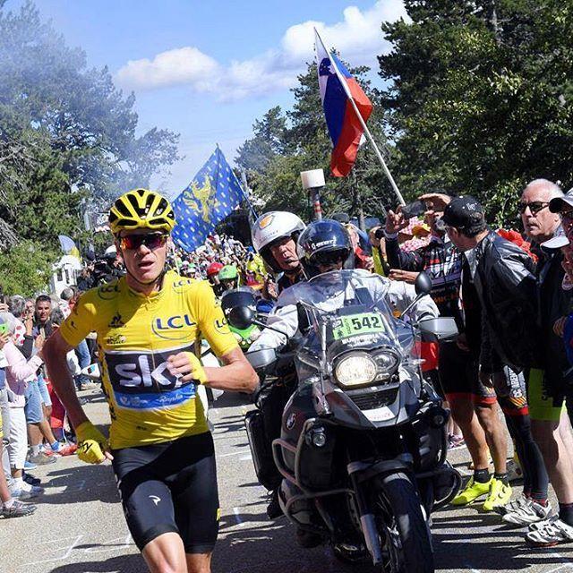 Determination Chris Froome Mont Ventoux stage 12 TDF2016