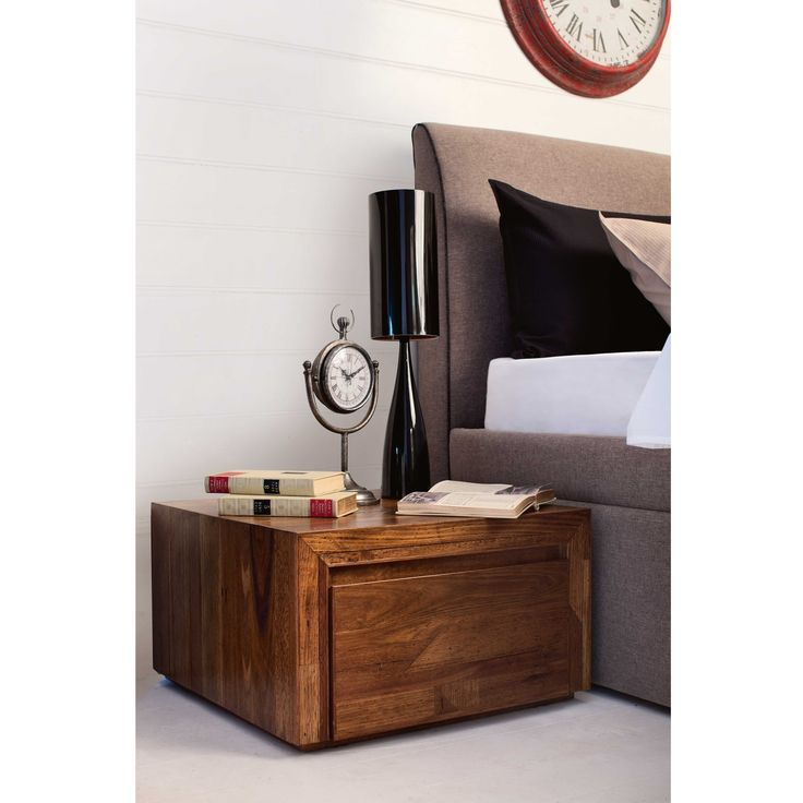 Pod 1-Drawer Bedside Table from Domayne Online