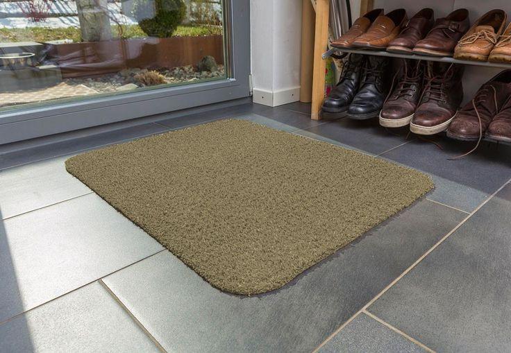 Türmatte Entra Saugstark Fußmatte Schmutzfang Eingangsmatte in 3 Größen 5 Farben