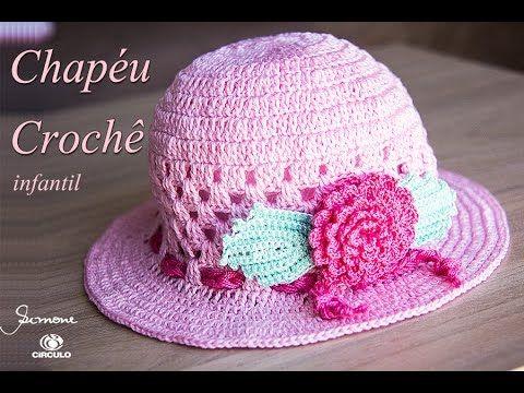 Olá, vamos fazer um Chapéu de crochê | verão ? confeccionado com o fio Anne e…