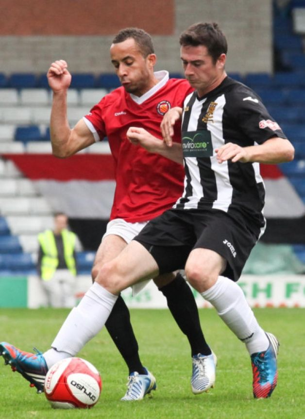 A rollercoaster cup tie built to a thrilling climax as 10-man Chorley responded to a late Curzon Ashton equaliser with a brilliant goal on 9...