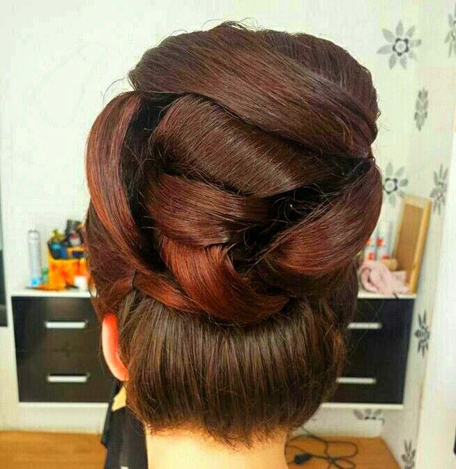 Best 25+ Big hair updo ideas on Pinterest | Big updo, Big ...