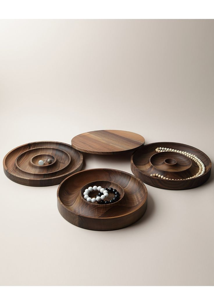 Saskia Diez for e15 /  Walnut Jewelry Case