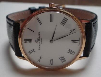 Baume & Mercier Gold Watch  $420Mercier Gold, De Pulso, Watches Fetish, Relógios De, Watches 420, Gold Watches, Baume Mercier, Bored Boards