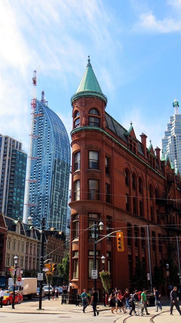 Gooderham Building, Toronto, Canada   NTripping.com - one of Toronto's landmarks