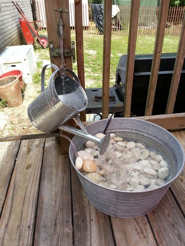 Best 25 homemade water fountains ideas on pinterest diy for Easy diy outdoor water features
