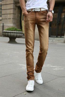 Men's Casual Stretch Skinny Jeans