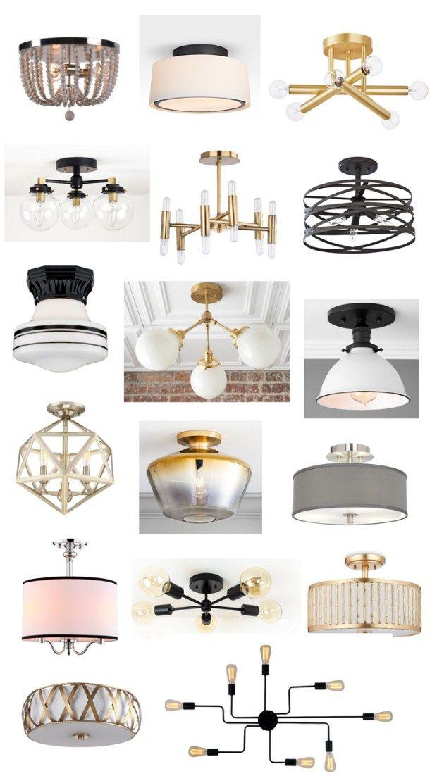 Attractive Semi Flush Mount Fixtures Living Room Light Fixtures