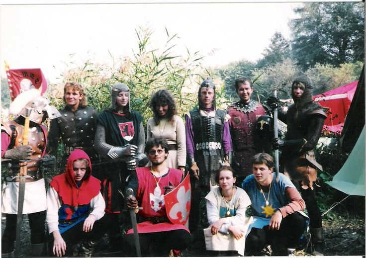 Skupina historického šermu ARMET - VYŠKOV 1995.