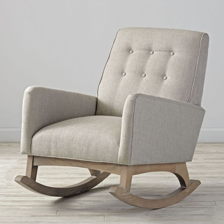 25 best ideas about Upholstered rocking chairs on