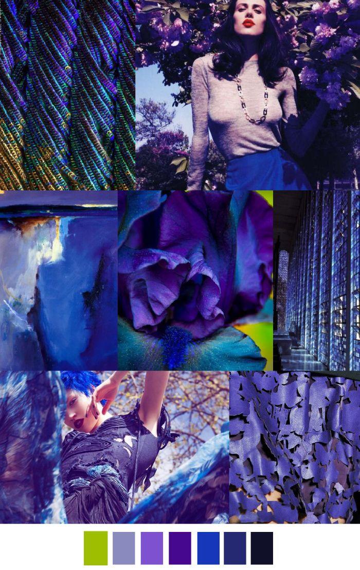 Autumn 2016 | BLUE VIOLET | pattern curator