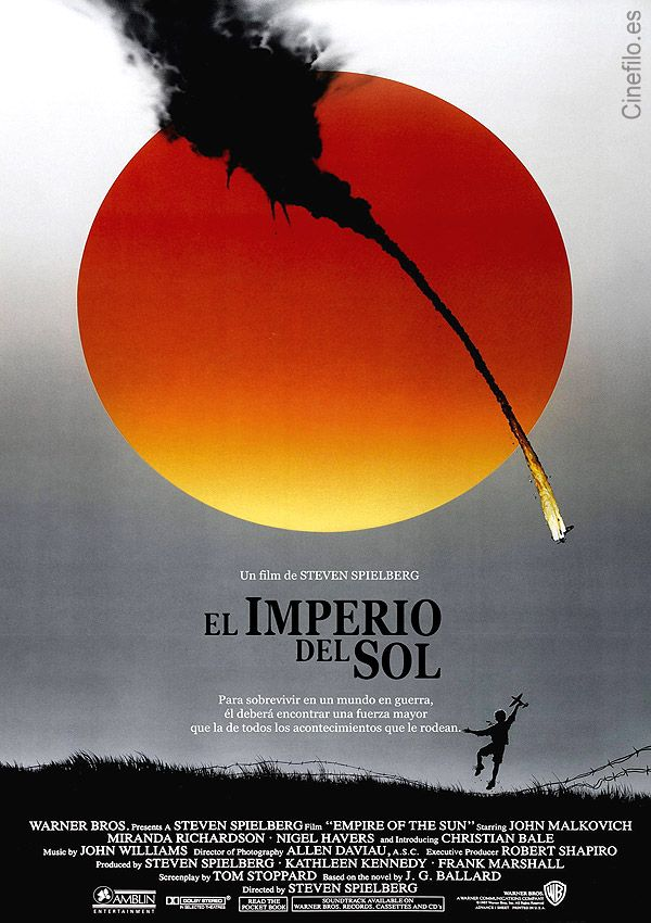 El imperio del sol [Vídeo (DVD)] / directed by Steven Spielberg. Warner Home Video Española, cop. 2005