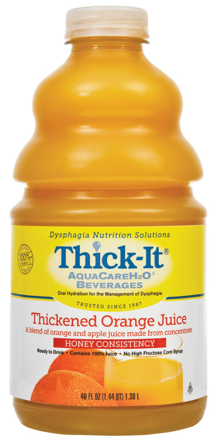 EA/1 ThickIt AquaCare H2O Thickened Orange Juice Honey