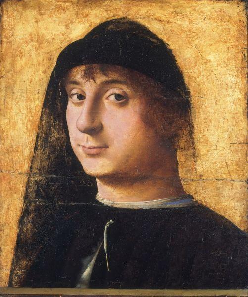 Philadelphia Museum of Art - Antonello da Messina -- Portrait of a Young Gentleman - Alafoto Art Gallery