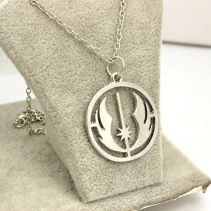 Star Wars 6 : Return Of The Jedi Hollow Silver Plated Fashion Pendant Necklace