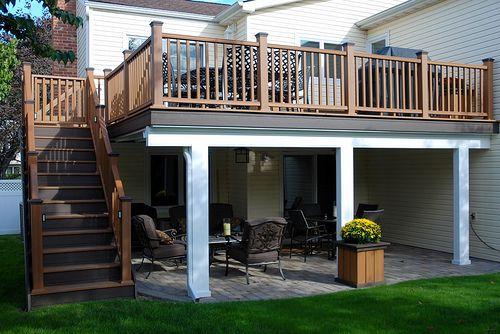 Trex Upper Deck Deck Design Patio Design Decks Porches