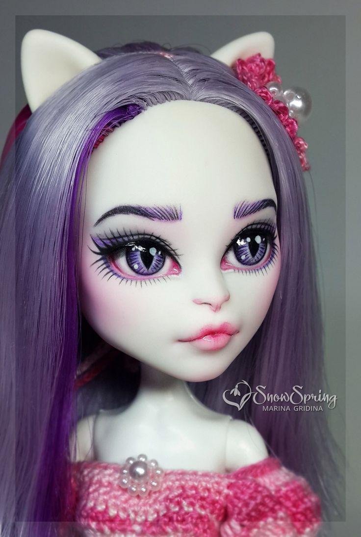 Catrine demew popular catrine demew doll buy cheap catrine demew doll - Catrine Demew Snowspring Monster High Eah Ooak Doll