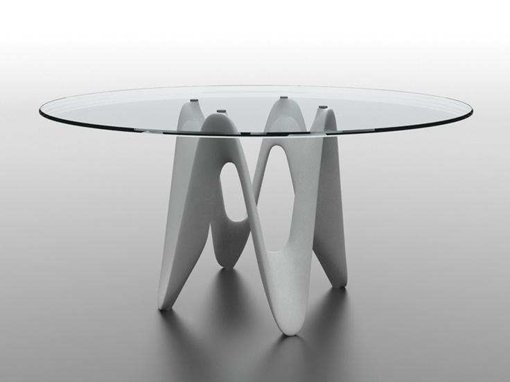 Sovet | Lambda | Dining Table | Glass | Dining Room Furniture Lambda : Ultra Modern