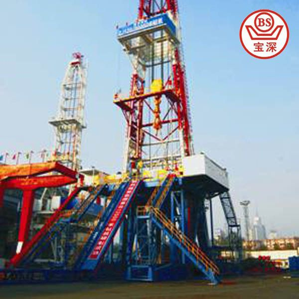 china drill rig manufacturer! offshore drilling rig 200 m deep $10000~$100000