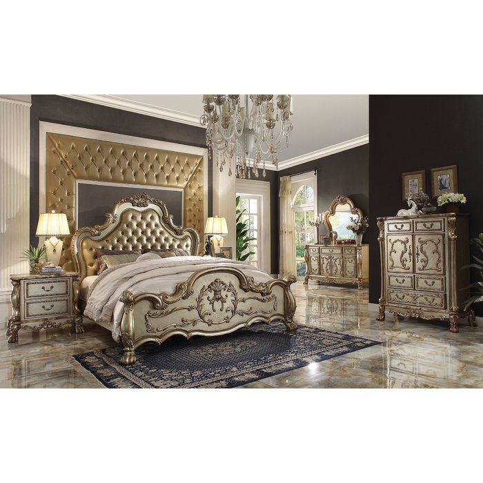 Astoria Grand Perales Panel Customizable Bedroom Set Bedrooms