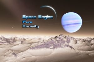 Explore the universe with Space Engine: Pure Serenity. A software package for Windows which simulates the known and unknown space above.