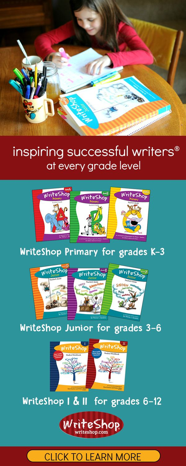 No matter what kind of learner you have, teaching writing can be  intimidating. We