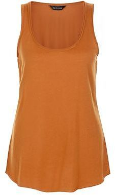 Womens windsor tan tan basic vest from New Look - £4.99 at ClothingByColour.com