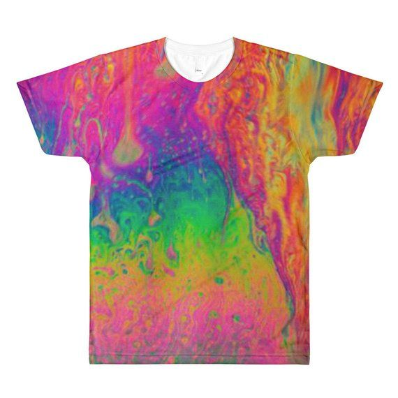Medium Tie Dye Lava Lamp shirt