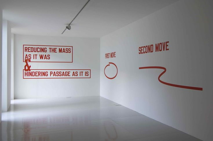 THAT WHICH IS... by Lawrence Weiner