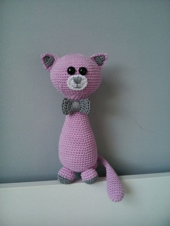 Crochet cat by kaizerka on Etsy