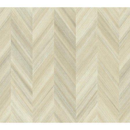 Ashford Geometrics Gradient Chevron Wallpaper, Beige