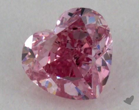 0.19 Carat fancy intense purplish pink Heart Shape Diamond | Pair it with a setting to create a stunning custom engagement ring. | Diamond Style: 177351 on JamesAllen.com. Click to view the diamond in 360° HD.